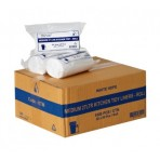 KITCHEN-OFFICE TIDY WHITE BIN LINERS 27LTR